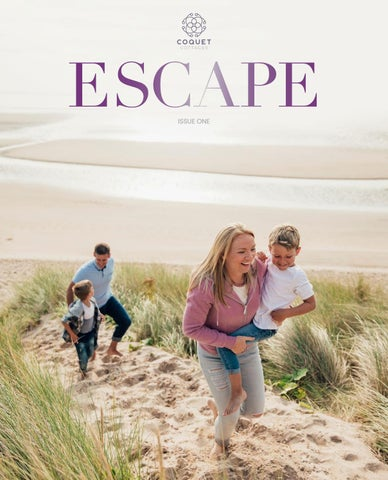 Coquet Cottages Escape magazine by Remember Media limited