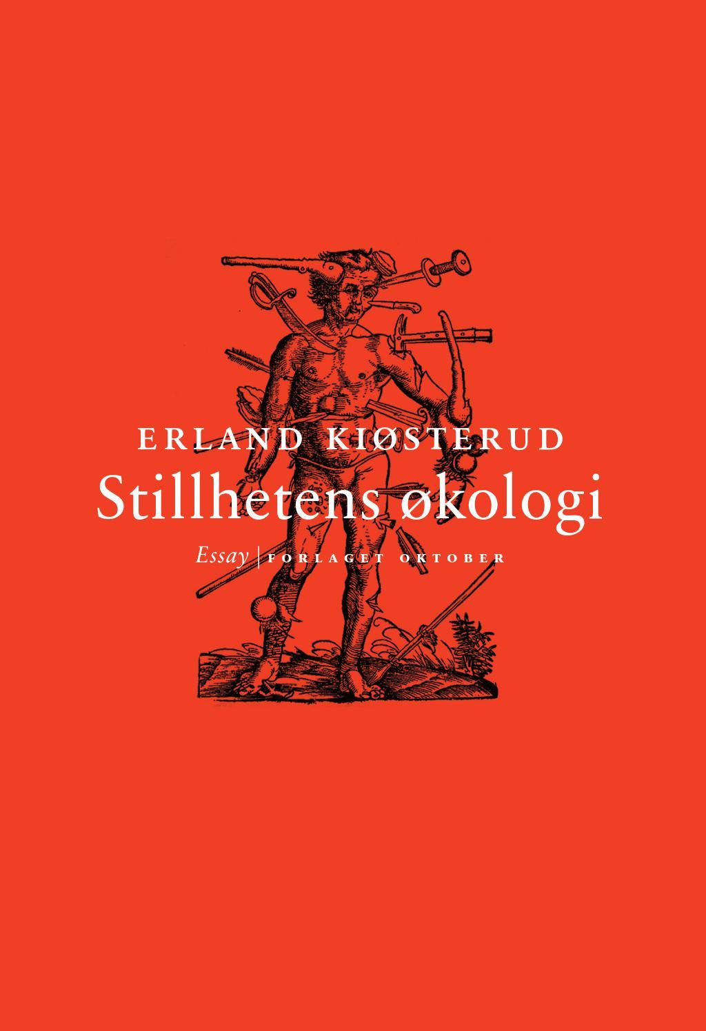 Erland Kiøsterud – Stillhetens økologi by Forlaget Oktober - issuu