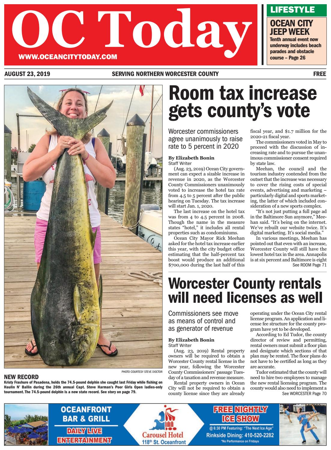 8/23/19 Ocean City Today by ocean city today - issuu