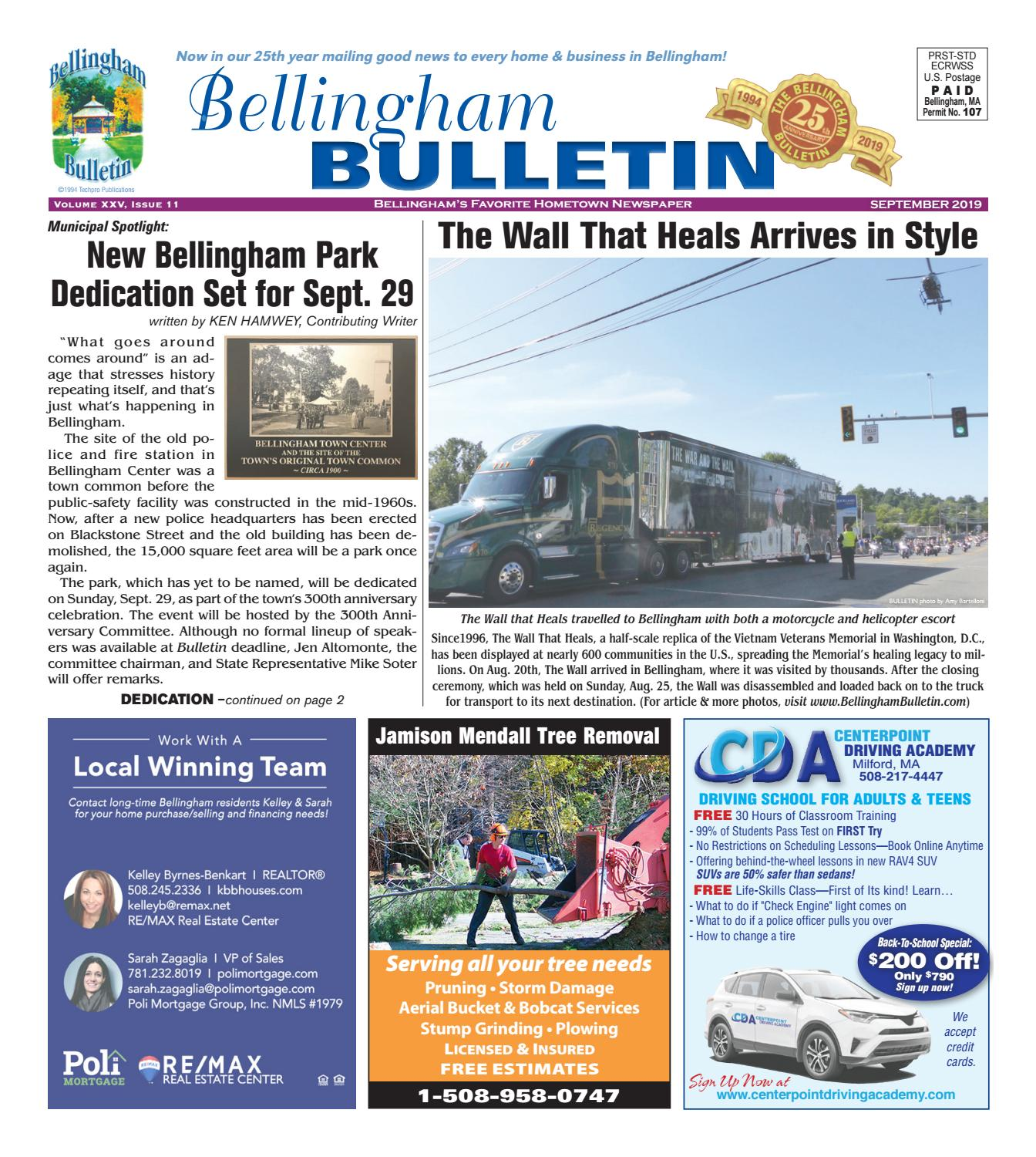 Bellingham Bulletin, Sept  2019 by Bellingham Bulletin - issuu