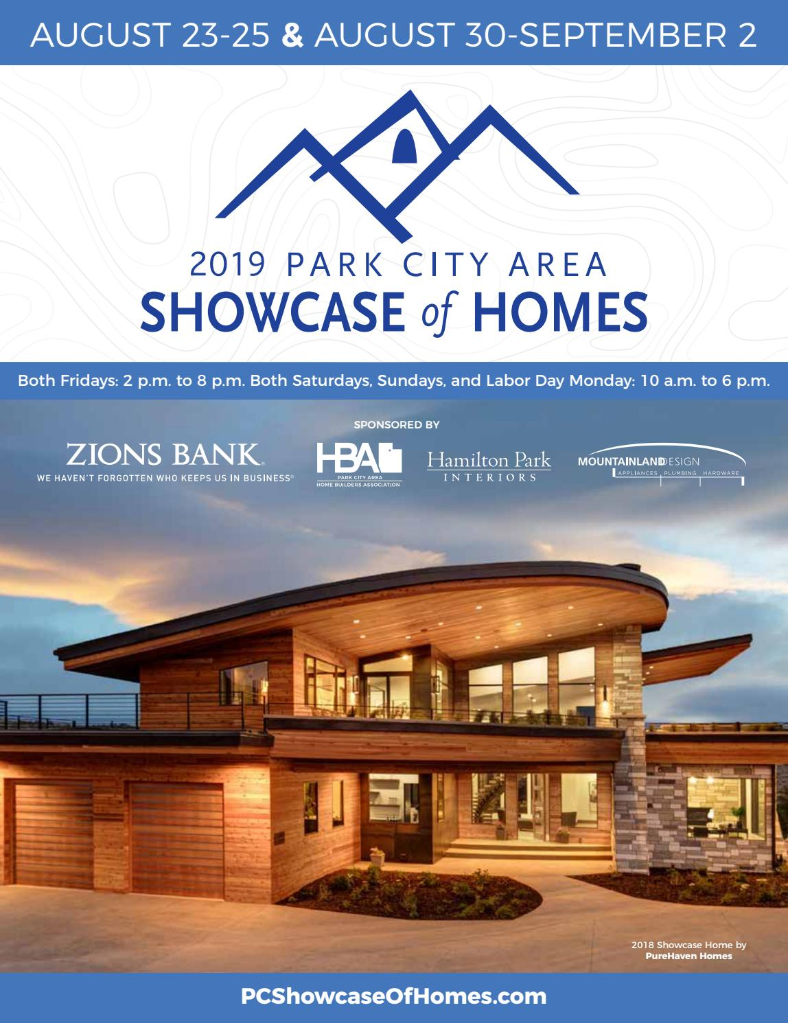 2019 Park City Area Showcase Of Homes