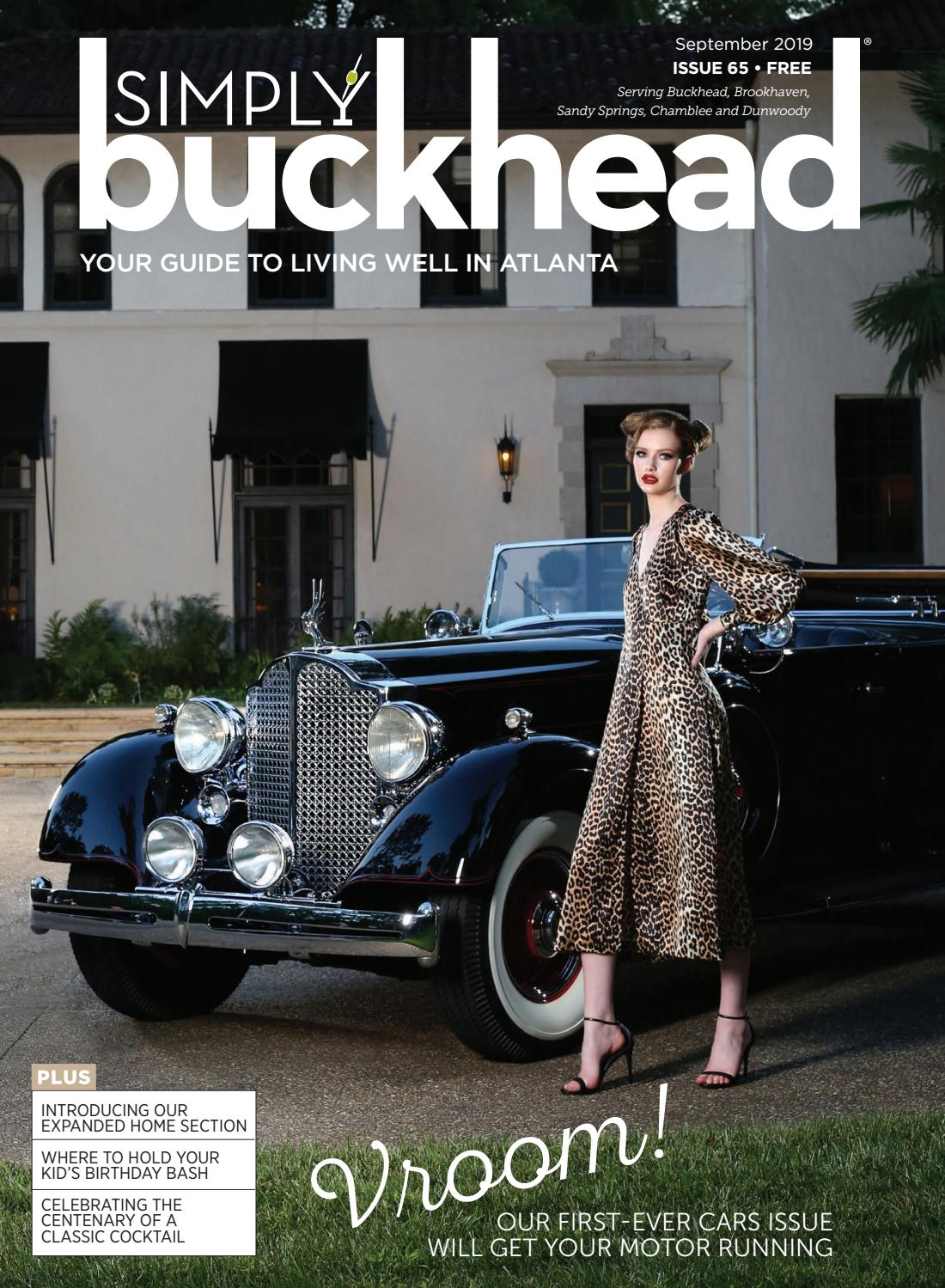 Simply Buckhead September 2019 by Simply Buckhead - issuu