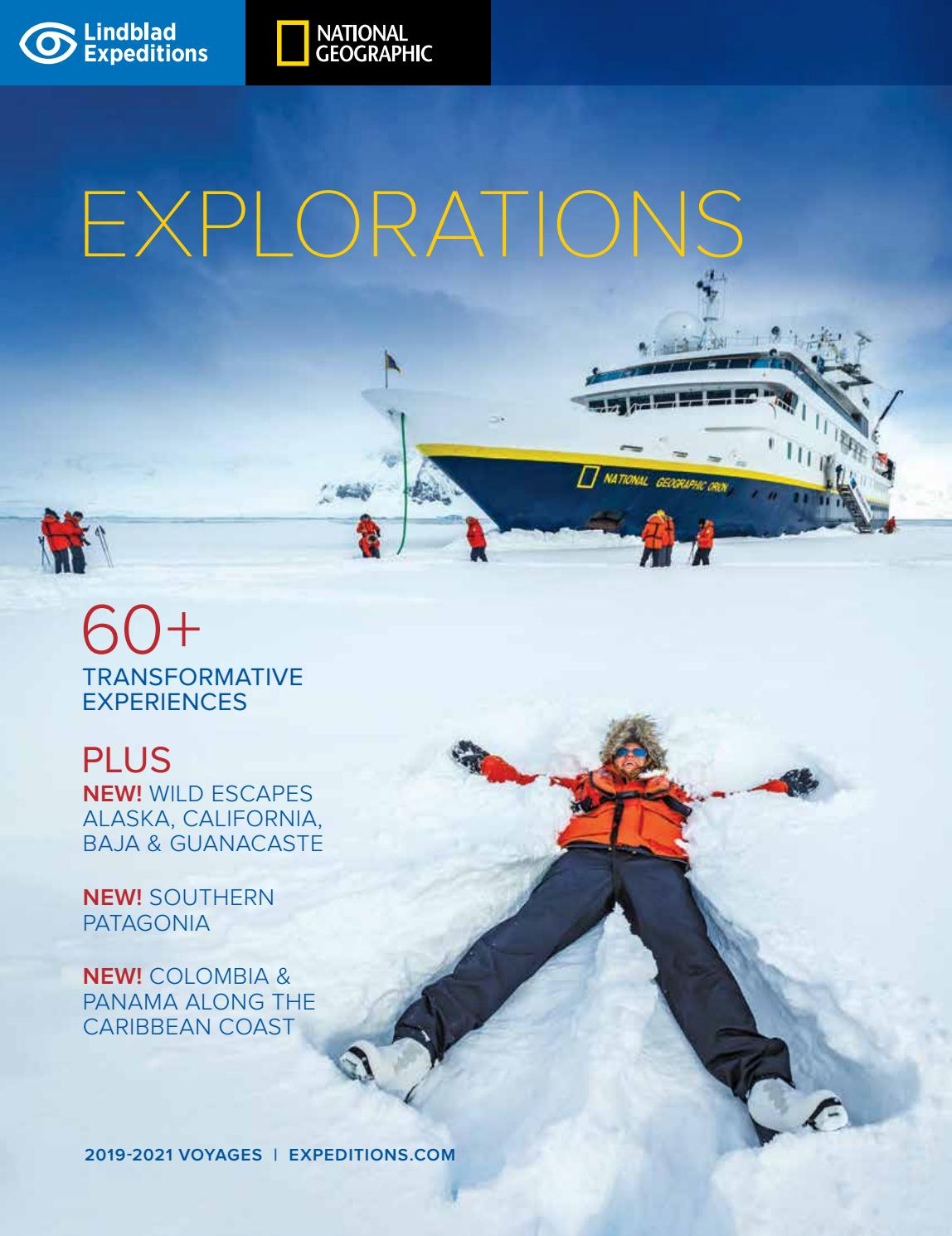 Explorations 2019 2021 By Lindblad Expeditions Issuu