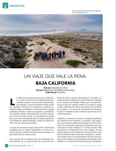 Page 30 of Un viaje que vale la pena: Baja California