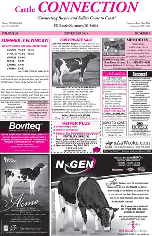 2019 NHC Souvenir Issue | 2019 National Holstein Convention