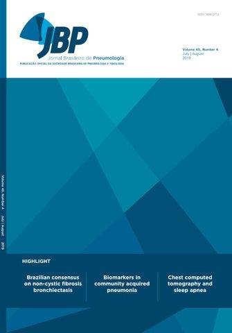 JBP - Volume 45, number 4, July/August 2019 by Jornal