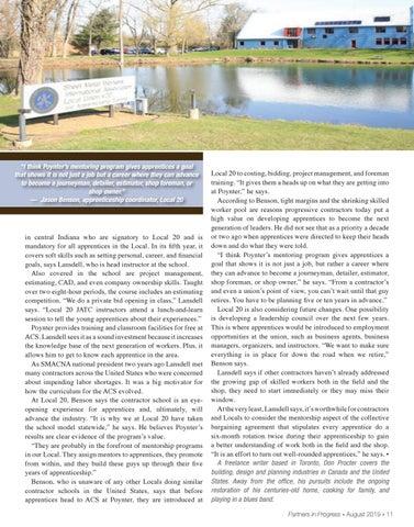 Page 11 of Mentorship Initiatives: Bridge the Gap