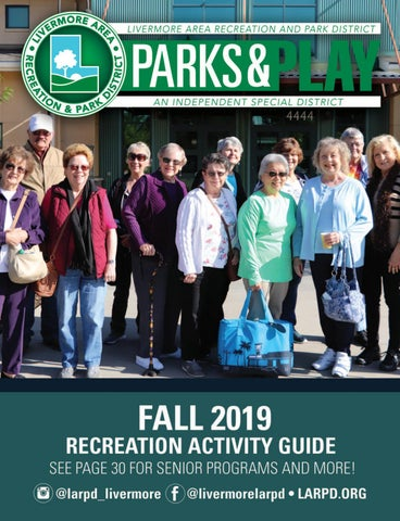 Livermore Area Recreation & Park District Fall 2019 Park