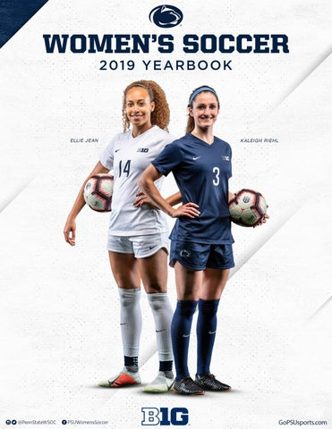 2019 Penn State Women's Soccer Yearbook by Penn State