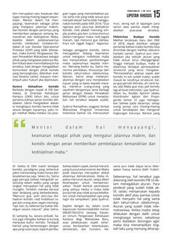 Page 15 of Relevansi Komisi Disiplin dalam Ospek