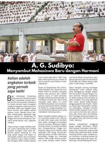 Page 17 of A. G. Sudibyo: Menyambut Mahasiswa Baru dengan Harmoni