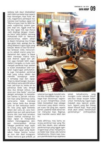 Page 9 of Ngopi, Yuk! Seseruput Arabika yang Membudaya