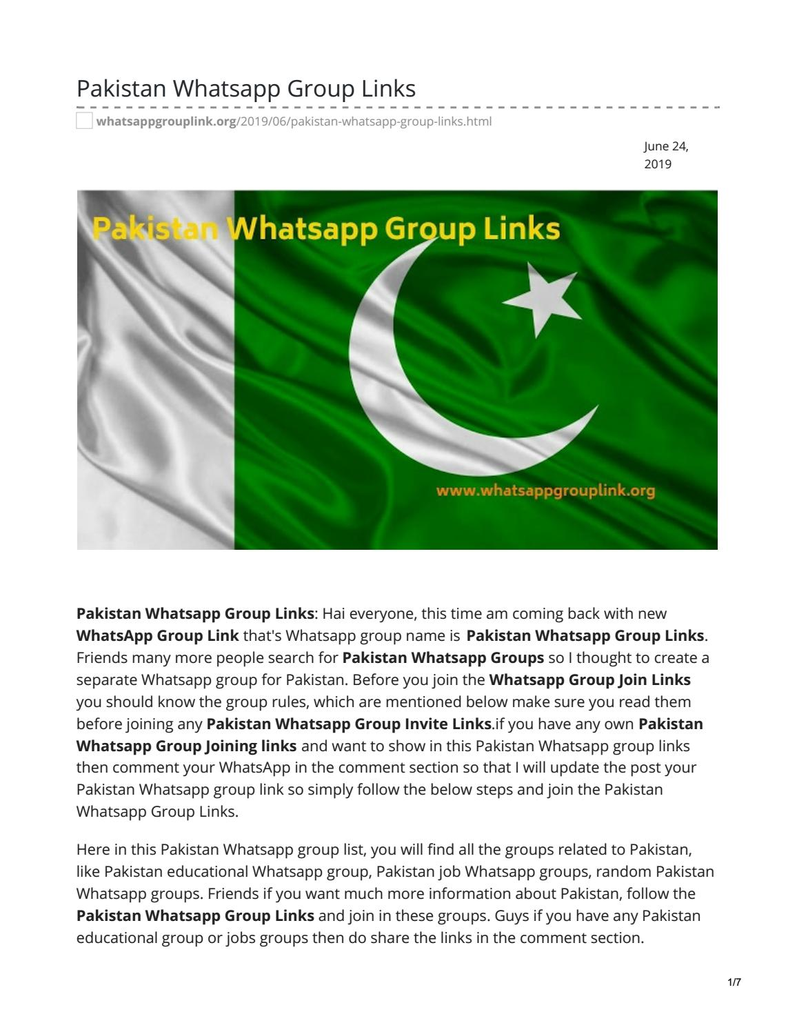 Political Whatsapp Group Links by whatsappgrouplinks77 - issuu