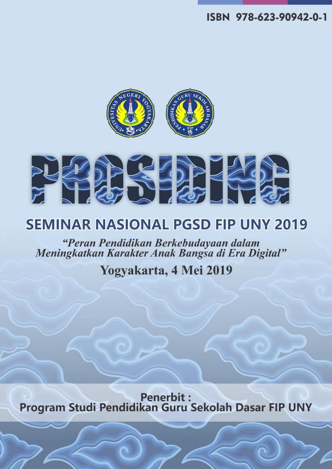 Prosiding Seminar Nasional Pgsd Fip Uny 2019 By Pls Fip