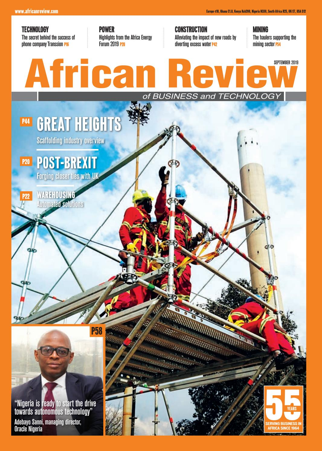 African Review September 2019 by Alain Charles Publishing
