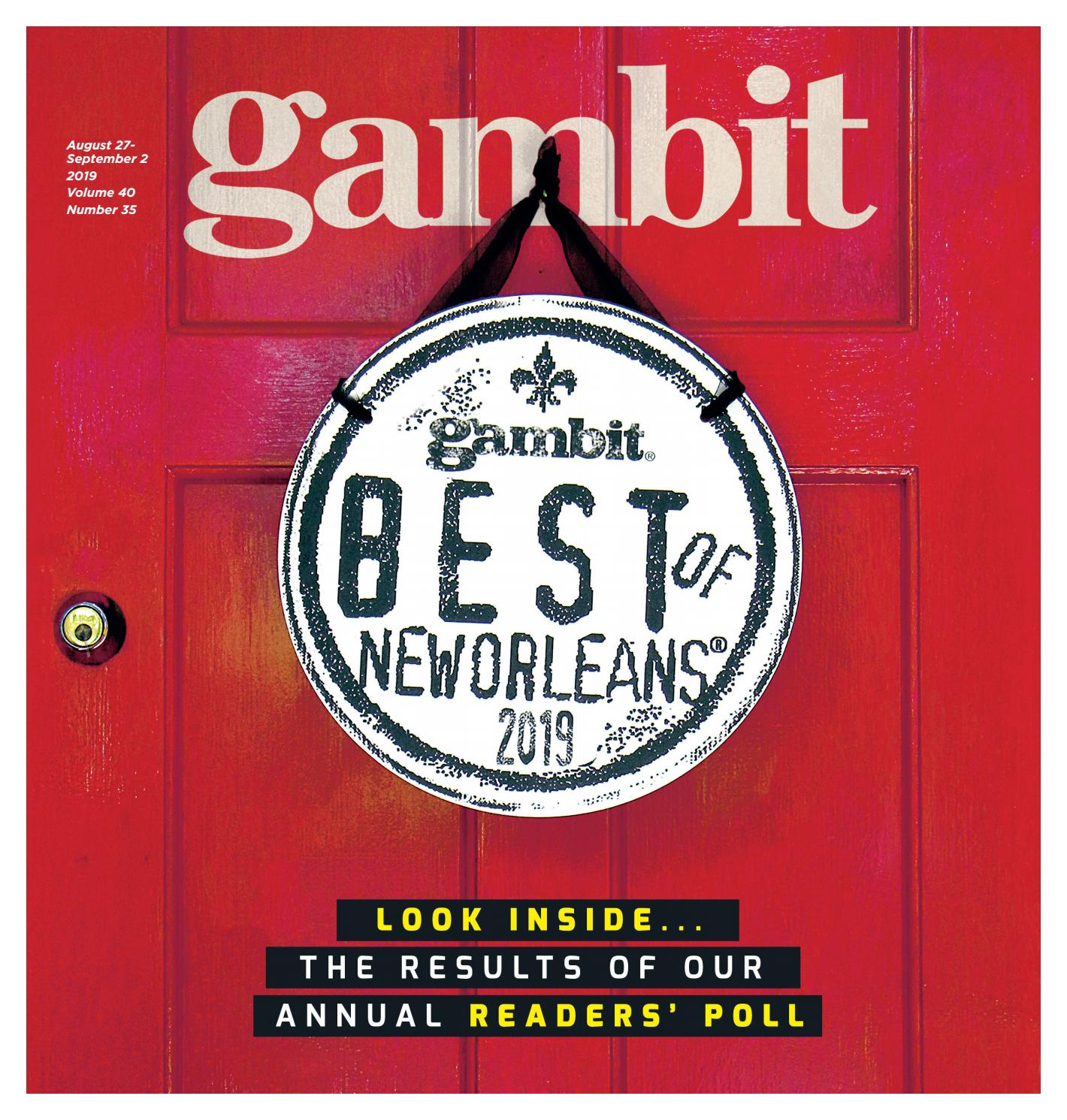 Gambit's Best of New Orleans 2019 by Gambit New Orleans - issuu