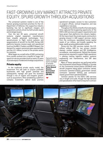 Page 22 of Fast-growing UXV market attracts private equity, spurs growth through acquisitions