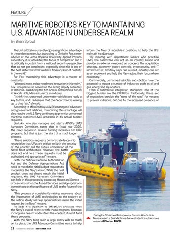 Page 30 of Maritime robotics key to maintaining U.S. advantage in undersea realm