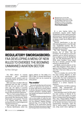 Page 34 of Cover story: September 2019 Unmanned Systems magazine