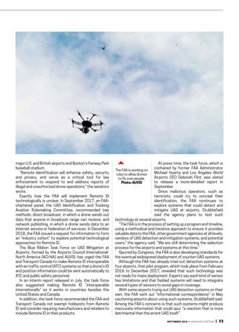 Page 35 of Cover story: September 2019 Unmanned Systems magazine