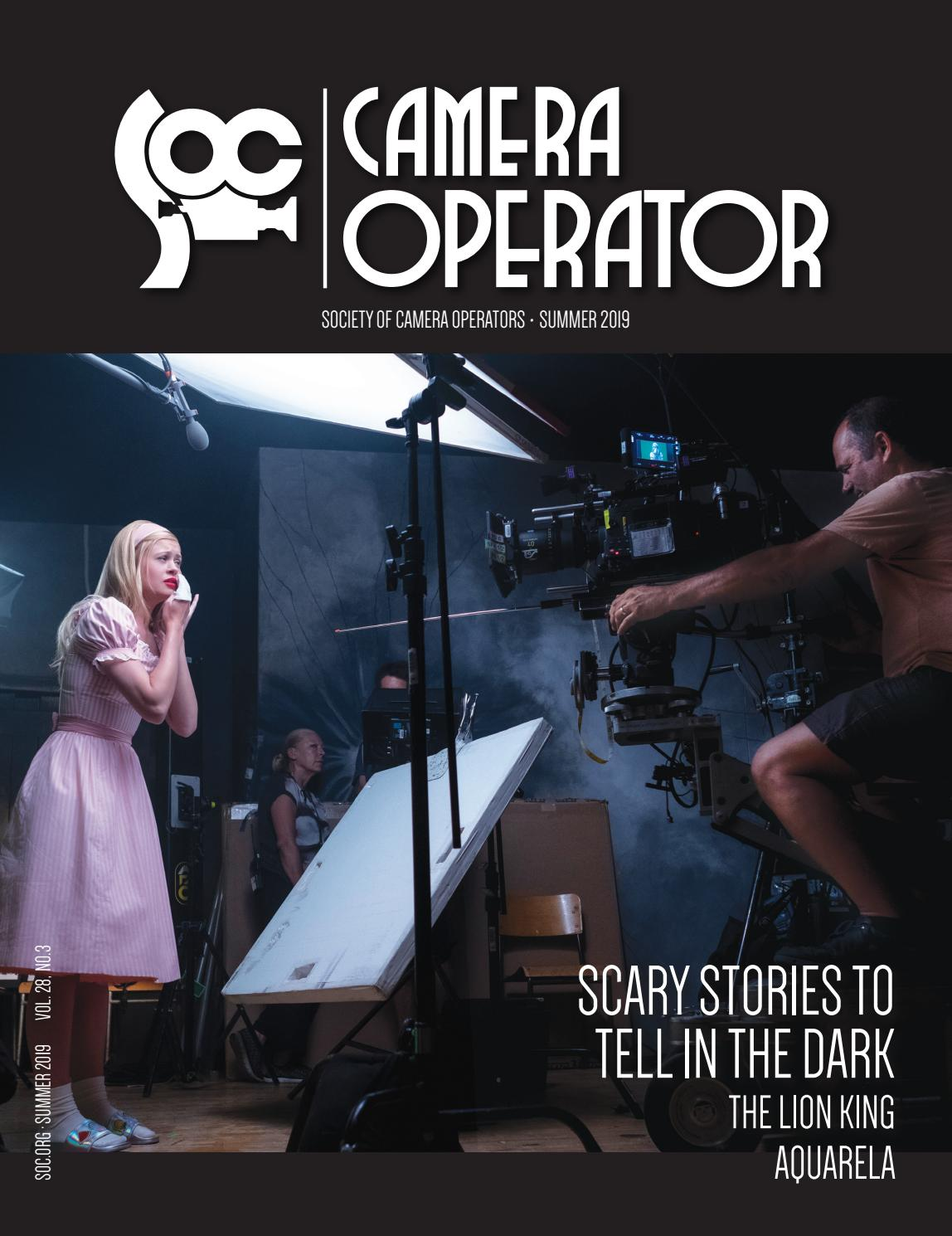 Camera Operator Summer 2019 By Society Of Camera Operators Issuu Vanessa /драма/ ванесса 1977 (16+). camera operator summer 2019 by society