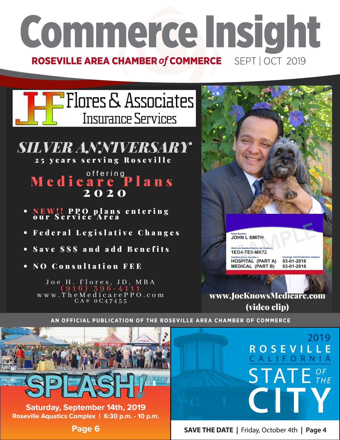 Fountains Roseville Events 2020.September October 2019 Commerce Insight By Roseville Area