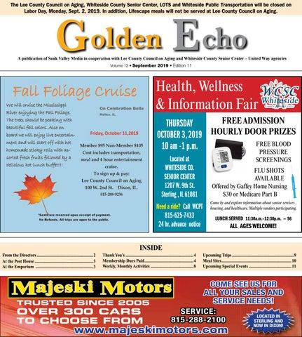 Whiteside County Fair 2020.Svm Golden Echo 082719 By Shaw Media Issuu