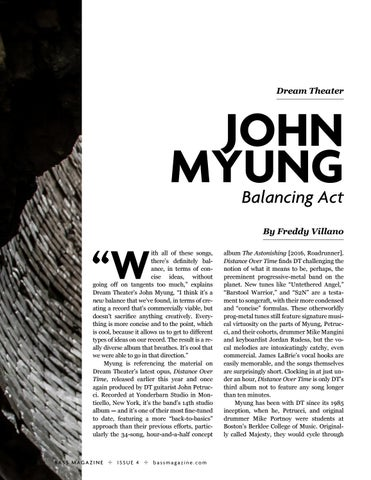 Page 22 of John Myung of Dream Theater: Balancing Act