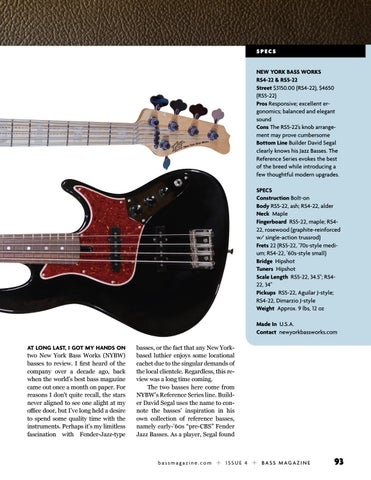 Page 93 of Review: New York Bass Works RS4-22 & RS4-22