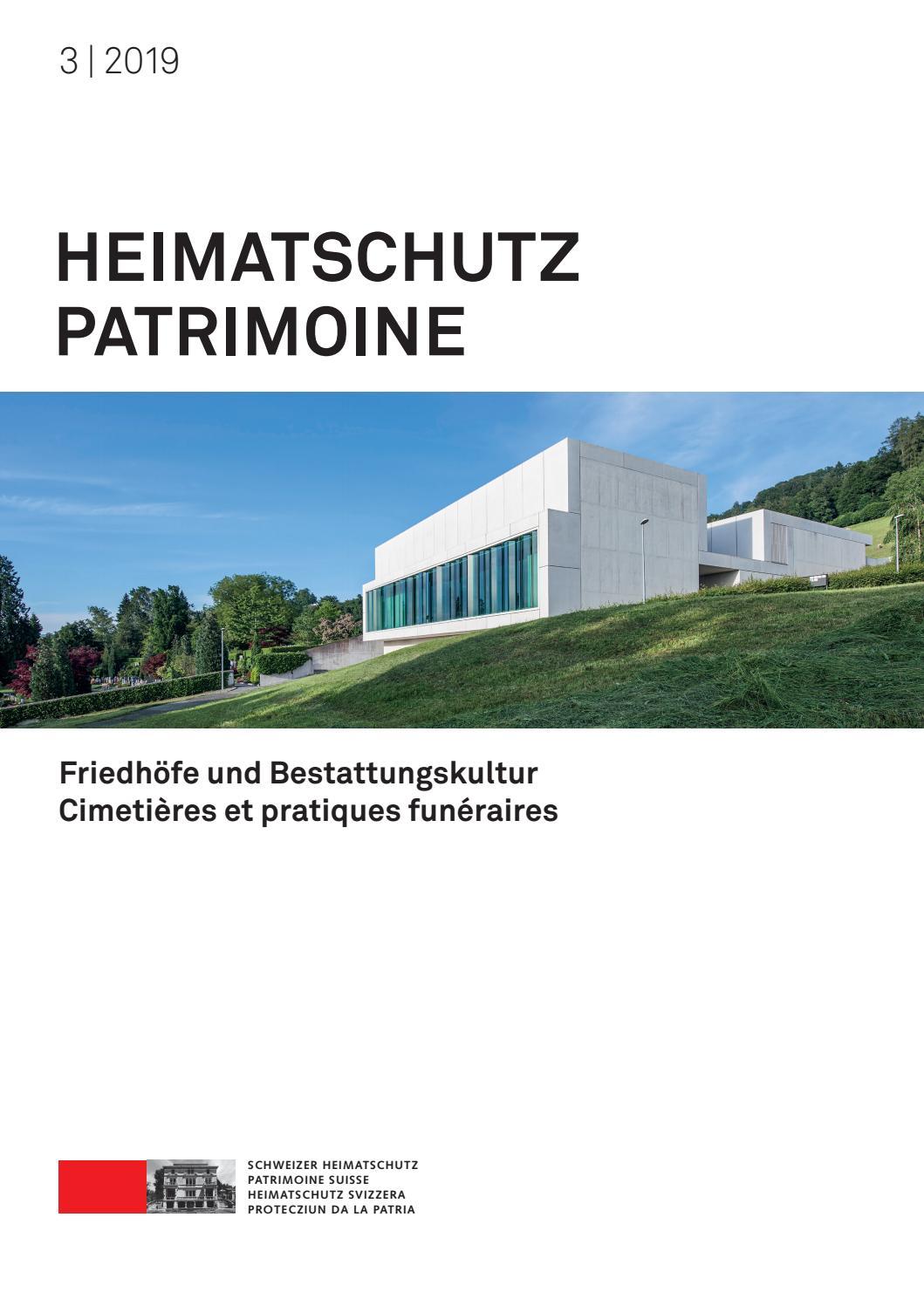 Heimatschutz/Patrimoine 3-2019 by Schweizer Heimatschutz - issuu