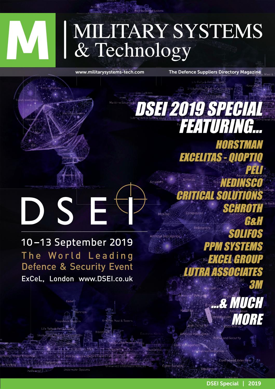 Military Systems Magazine Dsei 2019 By Military Systems And Technology Issuu