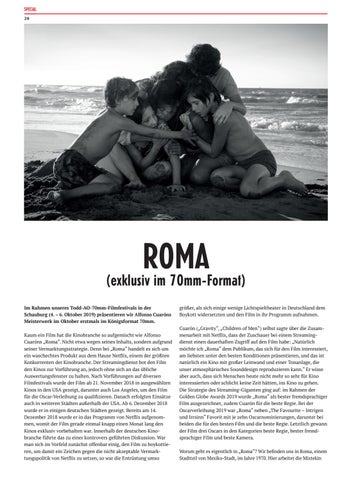 Page 20 of ROMA ... in 70mm Filmkopie
