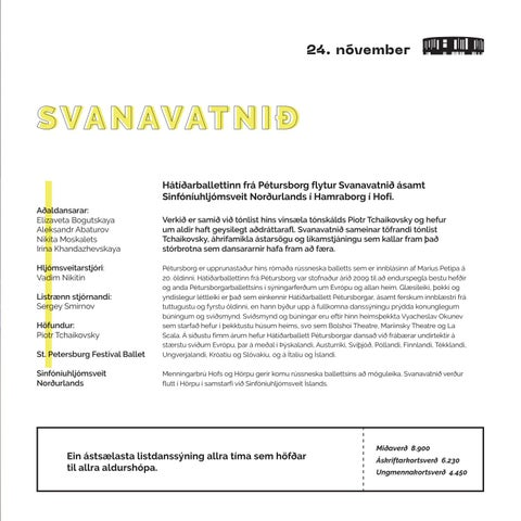 Page 13 of SVANAVATNIÐ