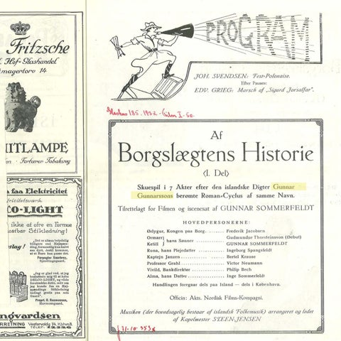 Page 20 of SAGA BORGARÆTTARINNAR