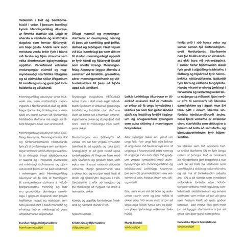 Page 3 of Ávarp viðburðarstjóra
