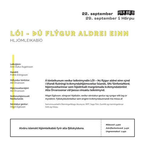 Page 7 of LÓI - ÞÚ FLÝGUR ALDREI EINN