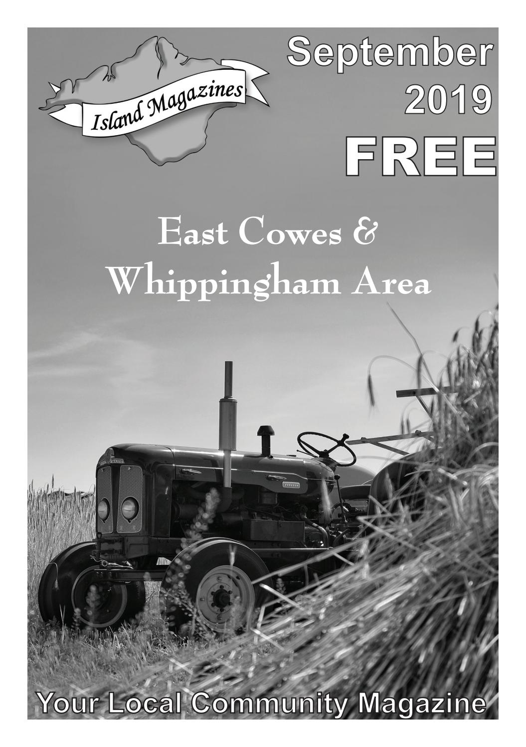 Island Magazines September 2019 Issue For East Cowes Whippingham Area By Island Magazines Issuu