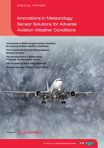 Innovations in Meteorology Sensor Solutions for Adverse