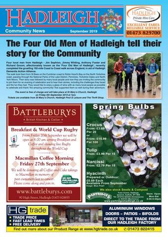 Hadleigh Community News, September 2019 by Keith Avis