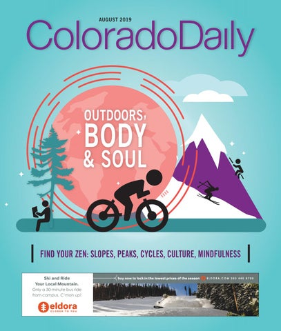 Colorado Daily - 2019 CU Welcome Back #2 by Prairie Mountain