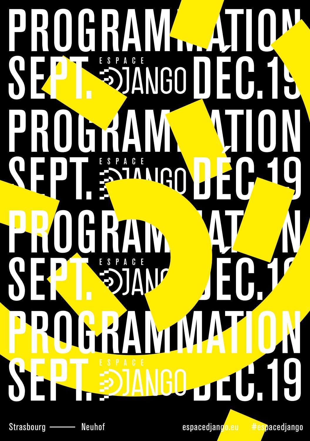 Espace Django 2019 Septembredécembre By Becoze Issuu