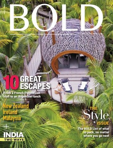 Bold Magazine Fashion & Style Issue by MORENO & CO - issuu
