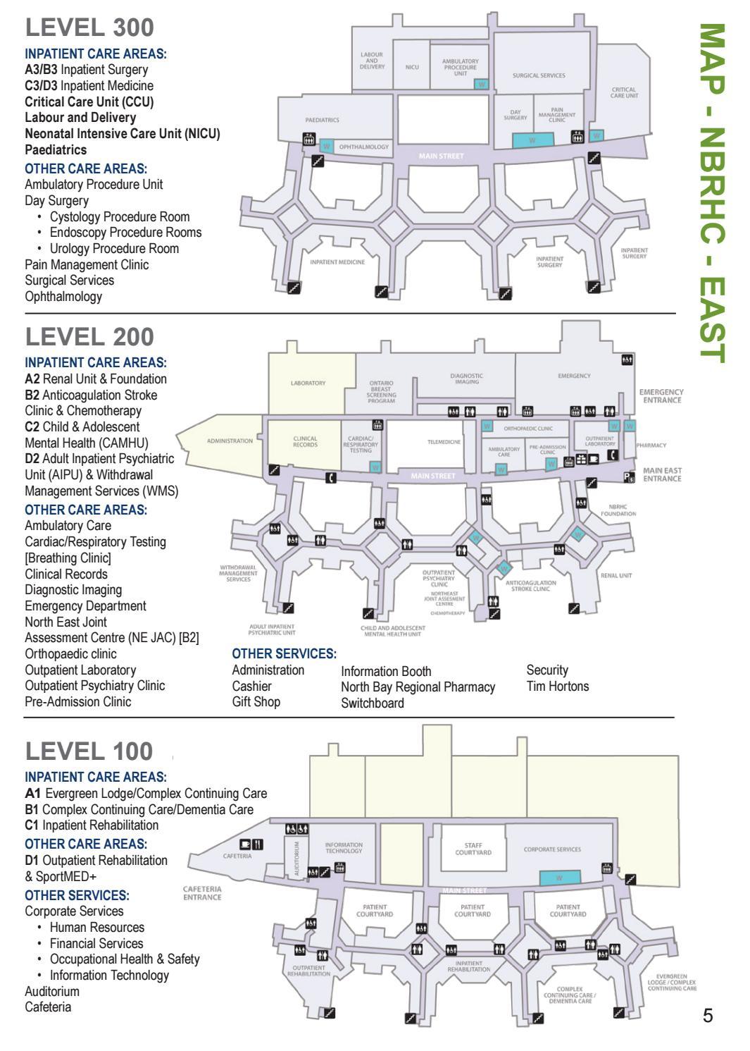 Endoscopy Processing Room: North Bay Regional Health Centre Patient Services Handbook