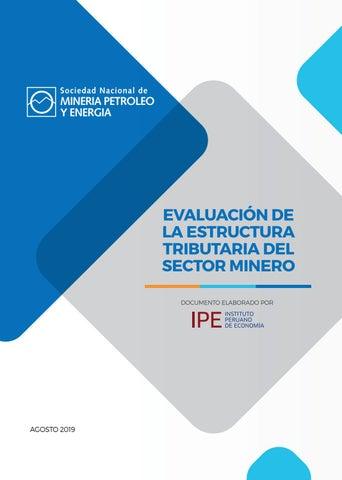 Evaluación De La Estructura Tributaria Del Sector Minero By