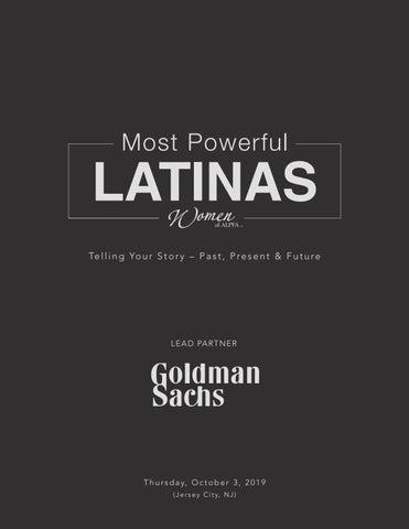 2019 Most Powerful Latinas Sales Brochure by ALPFA Inc  - issuu