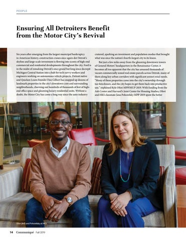Page 14 of Ensuring All Detroiters Benefit from the Motor City's Revival