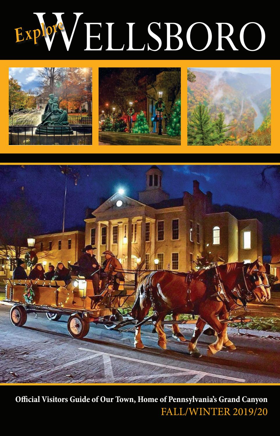 Official Start Of Fall 2020.Explore Wellsboro Fall Winter 2019 2020 By Mountain Home Issuu