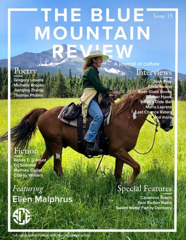 The Blue Mountain Review Issue 15 by CollectiveMedia - issuu