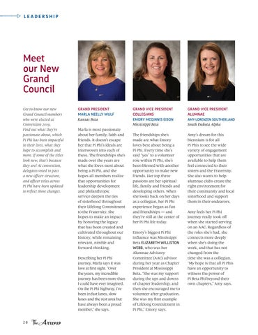 Page 30 of Meet Our New Grand Council