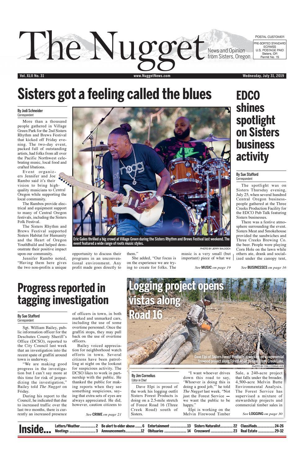 The Nugget Newspaper // Vol  XLII No  31 // 2019-07-31 by